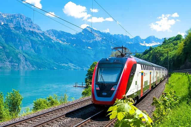 Train, Passenger Train, Sbb, Db, Bombardier, Intercity