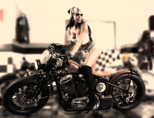 Moto, Motorcycle, Girl, Motorcyclist, Passion
