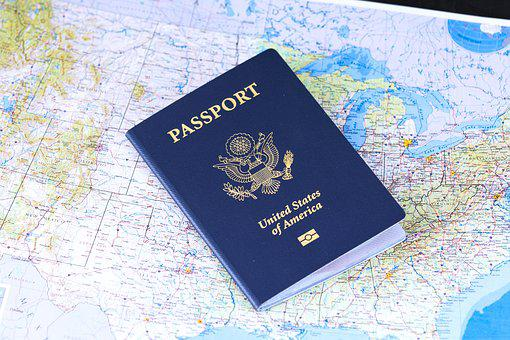 Passport, Flag, Travel, Visa, Identification, Usa