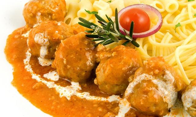 Food, Image, Restaurant, Pasta, Meat Balls