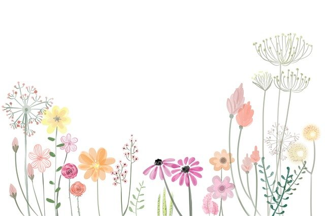 Flower, Petals, Spring, Floral, Artwork, Pastel, Summer