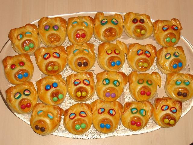 Pastries, Sweet, Bake, Cake, Danish Pastry, Piglet