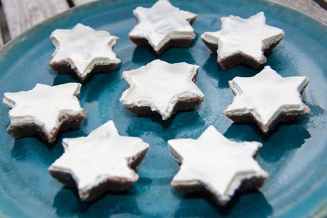 Cinnamon Stars, Christmas Cookies, Cookie, Pastries