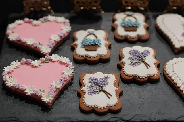 Pie Art, Decorated, Candy, Pastries, Confectionery