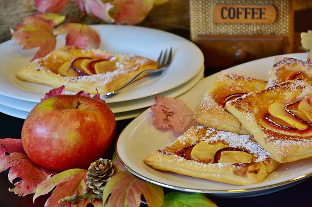 Apple, Pastries, Cake, Puff Pastry, Apple Turnover