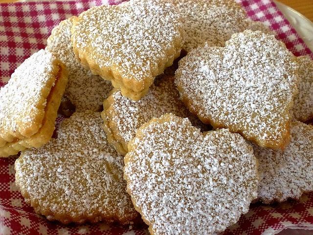 Cookie, Heart, Sugar, Love, Pastries, Bake