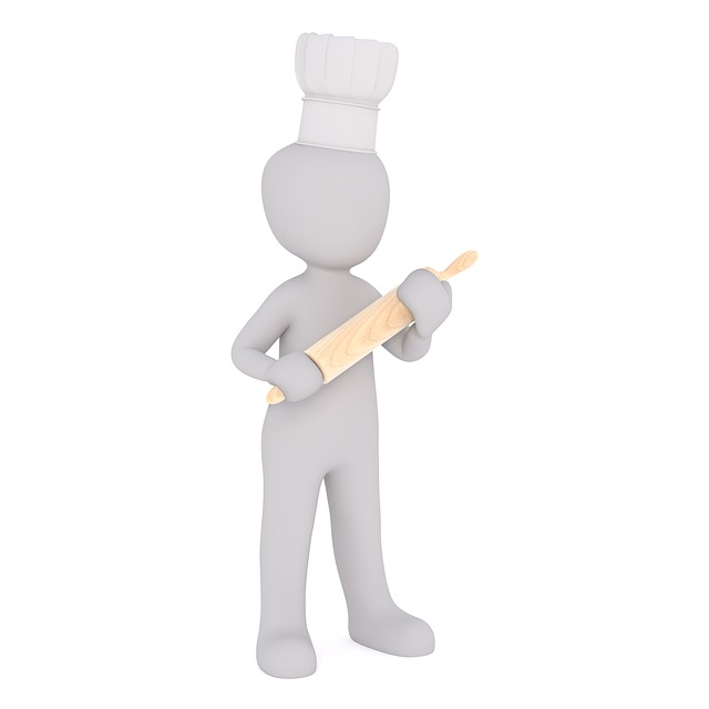 Cooking, Spar, Rolling Pin, Bake, Baker, Pastry Chef