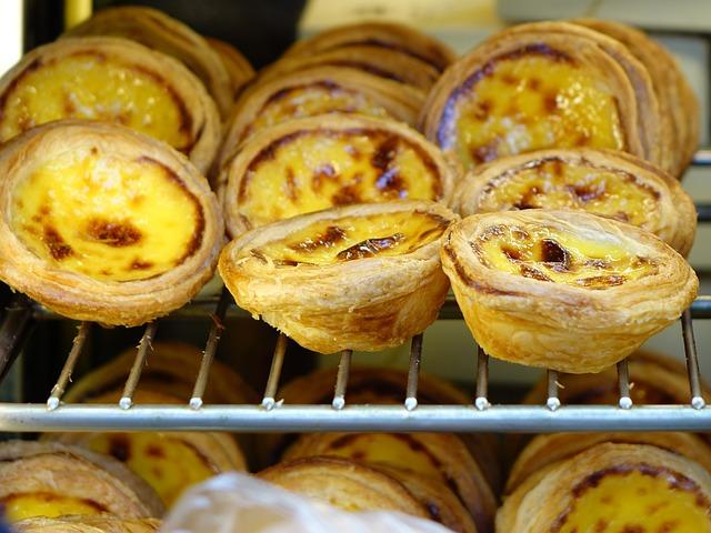 Portuguese Egg Tart, 蛋挞, Macau, Custard, Bakery, Pastry