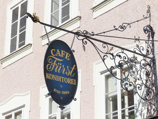 Cafe Prince, Pastry Shop, Salzburg, Nasal Shield