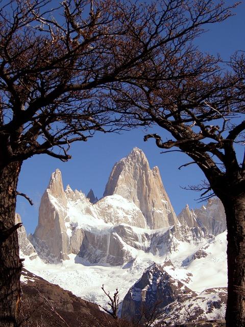 Patagonia, Argentina, Fitz Roy, Cerro Torre, Snow