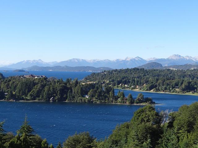 Lake, Bariloche, Patagonia