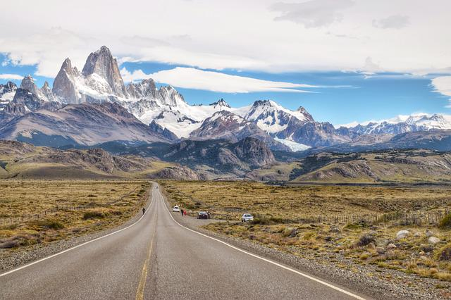 Mountain, Road, Nature, Travel, Landscape, Patagonia