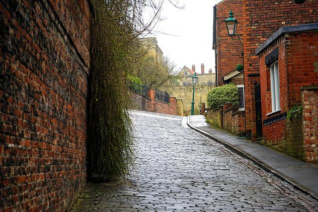Street, Road, Highway, Path, Brick, Old, Pathway