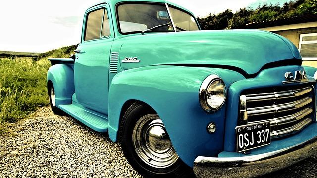 Vintage, American, Truck, Retro, Usa, Patriotic, States