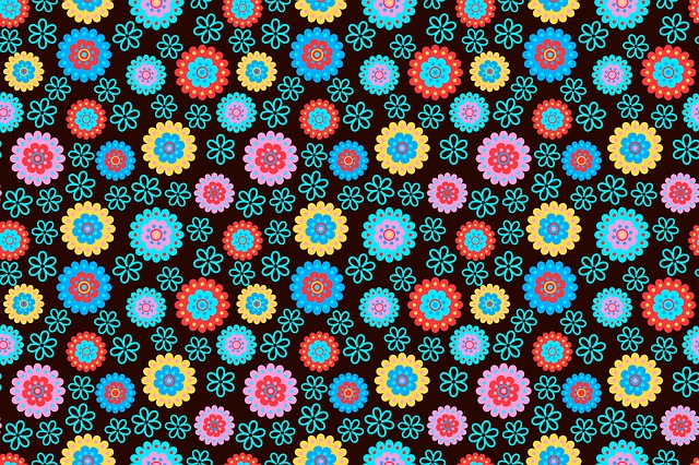 Floral, Abstract, Pattern