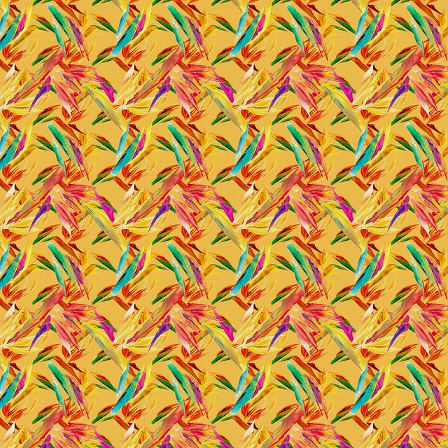 Pattern, Seamless, Floral, Flower, Bird Of Paradise