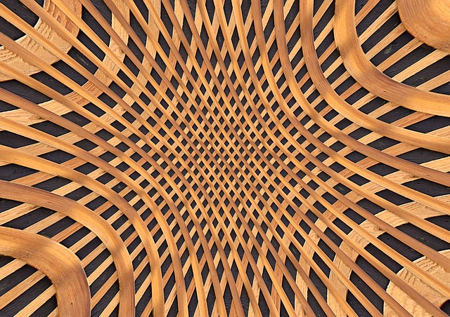 Braid, Wood, Arrangement, Vault, Pattern, Structure