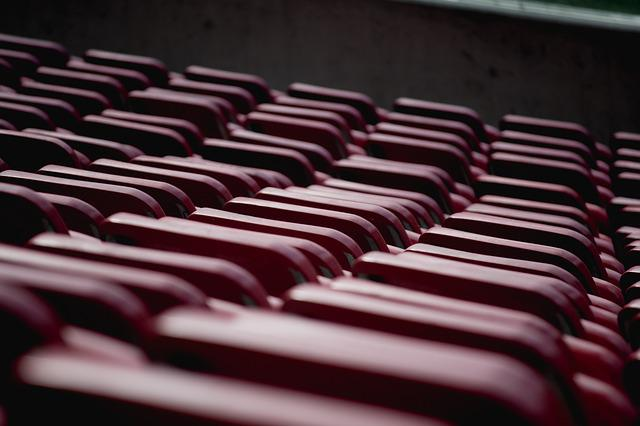 Chairs, Color, Empty, Indoors, Outdoors, Pattern, Row