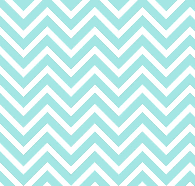 Zigzag, Chevron, Blue, White, Pattern, Design, Paper