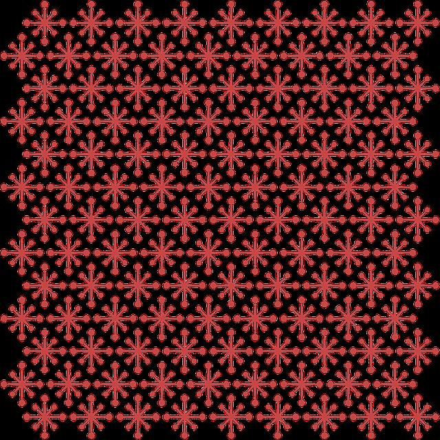 Pattern, Christmas Pattern, Red Stars, Red, Stars