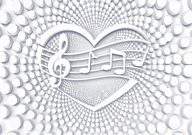 Points, Circle, Music, Pattern, Structure, Clef, Heart