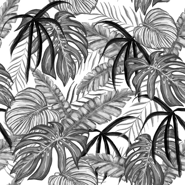 Drawing, Leaves, Nature, Picture, Pattern, Design