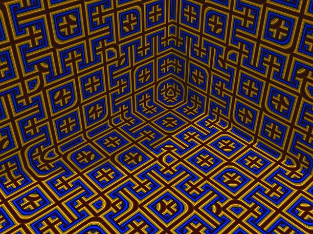 Pattern, Texture, Mathematical, Design, Backdrop