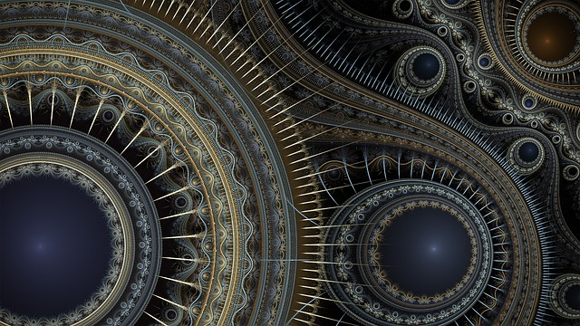 Fractal, Spikes, Gears, Abstract, Fractal Art, Pattern
