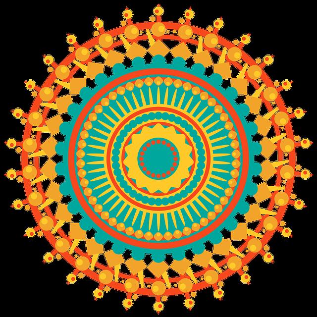 Mandala, Geometric, Design, Pattern, Shapes