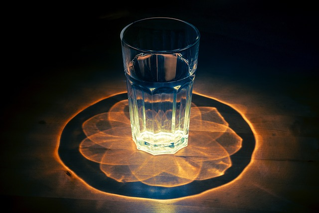 Glass, Water, Kaleidoscope, Multifaceted, Pattern