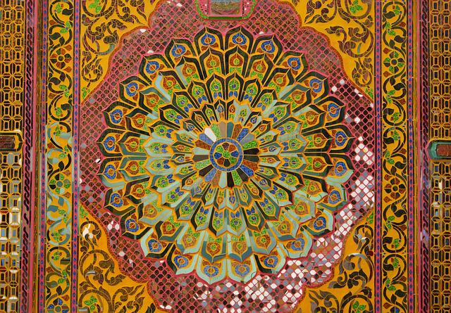 Mosaic, Kaleidoscope, Pattern, Colourful, Buddhism