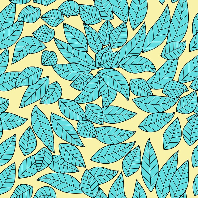 Leaves, Dried Leaves, Stamping, Pattern, Illustration