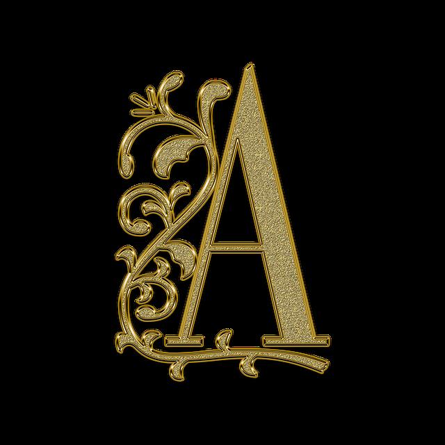 Letter, Litera, Monogram, Vintage, Pattern, Ornament