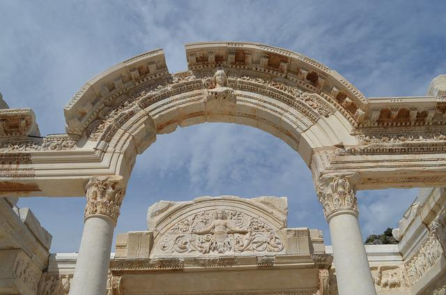 Free Photo Ephesus Library Ephesus Efes