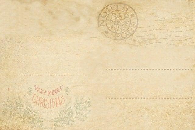 Old Post Card, Vintage, Antique, Old, Decor, Pattern