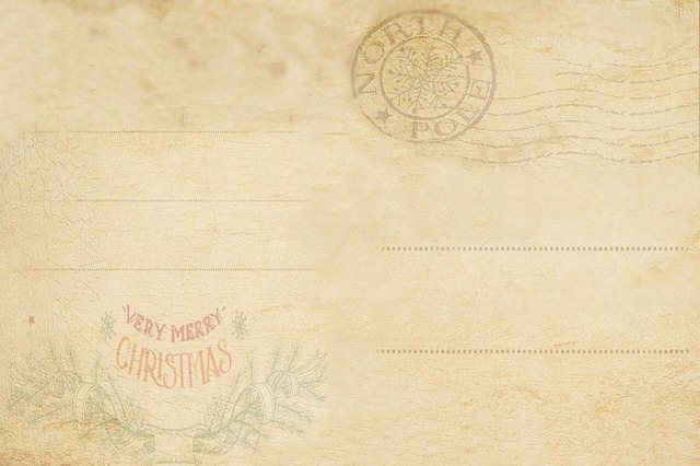 Old Post Card, Vintage, Antique, Old, Decor, Pattern