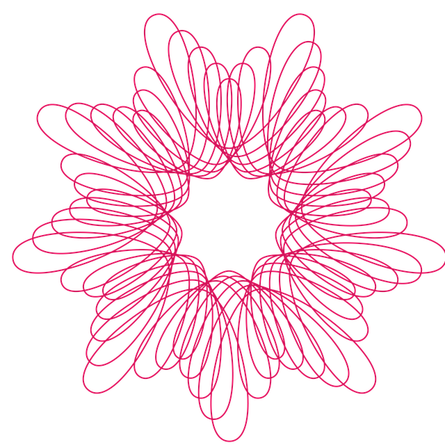 Spirograph, Pattern, Drawing, Design, Circle, Ornament