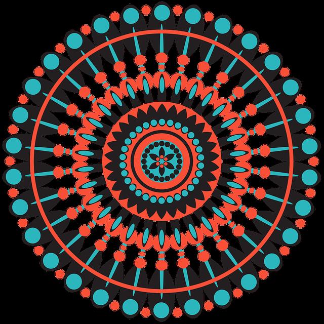Mandala, Geometric, Pattern, Shapes, Circle