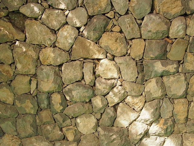 Stone Wall, Texture, Surface, Stone, Pattern