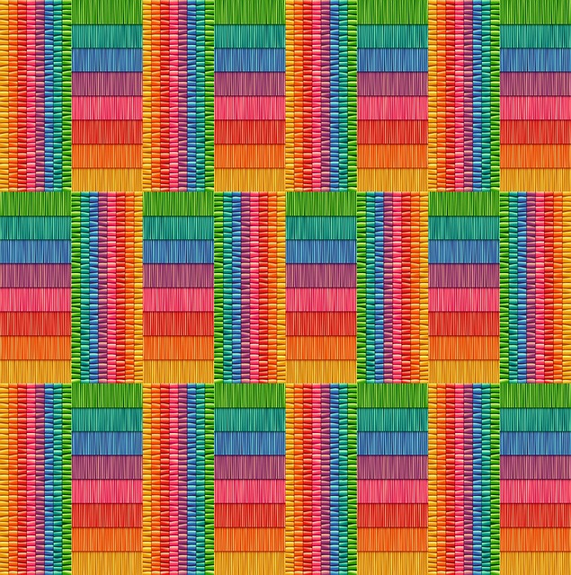 Texture, Surface, Rainbow, Festive, Geometric, Pattern