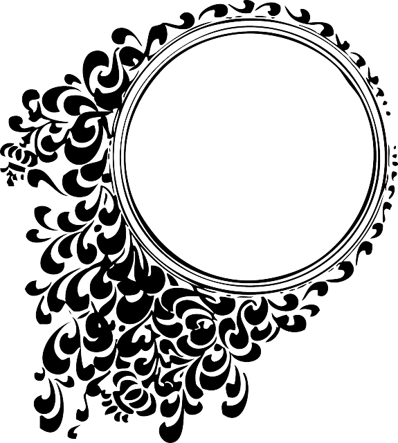 Decorative, Mirror, Round, Circle, Patterns