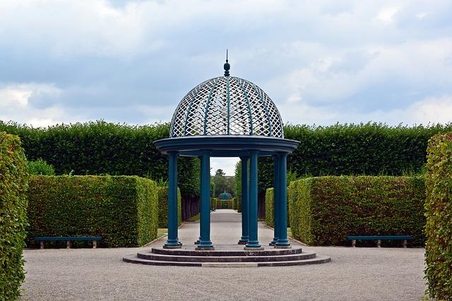Pavilion, Park, Herrenhäuser Gardens, Hanover, Garden