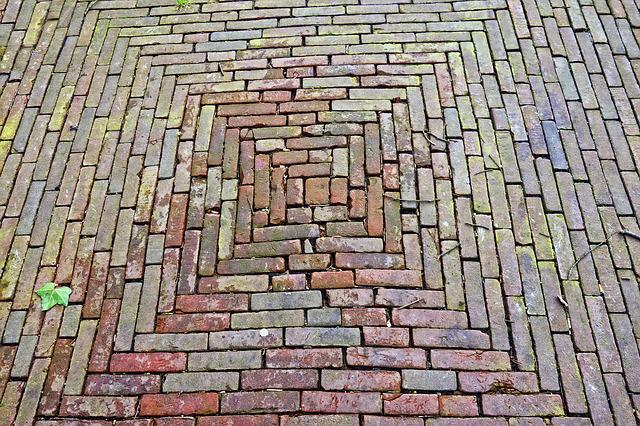 Brick, Paving, Paving Bricks, Bricklaying, Pattern