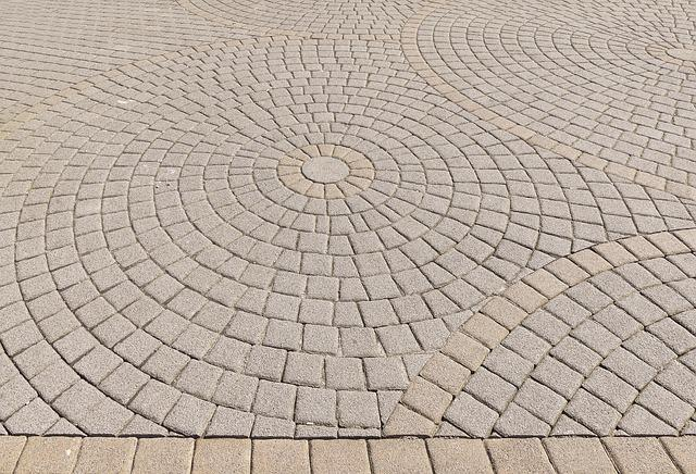Patch, Paving Stones, Circle, About, Composite Stones