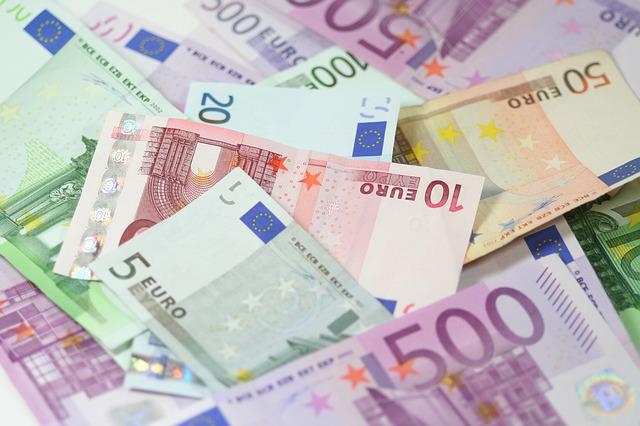 Currency, Wealth, Finance, Savings, Money, Euro, Pay