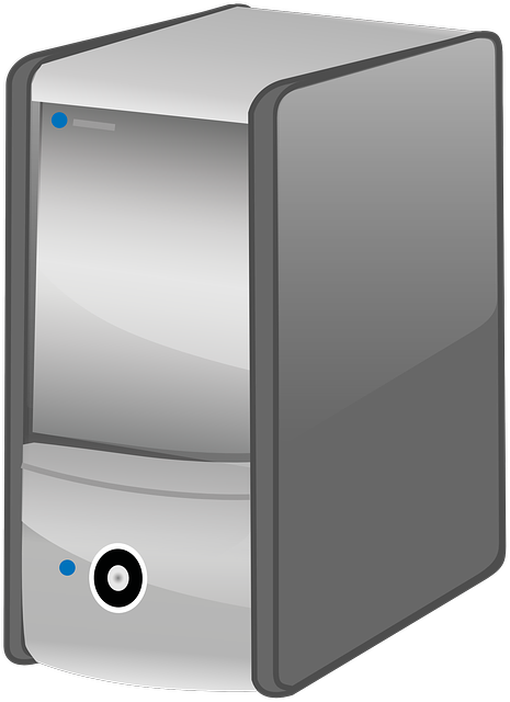 Pc, Computer, Pc Tower, Calculator, Black, Grey, Icon