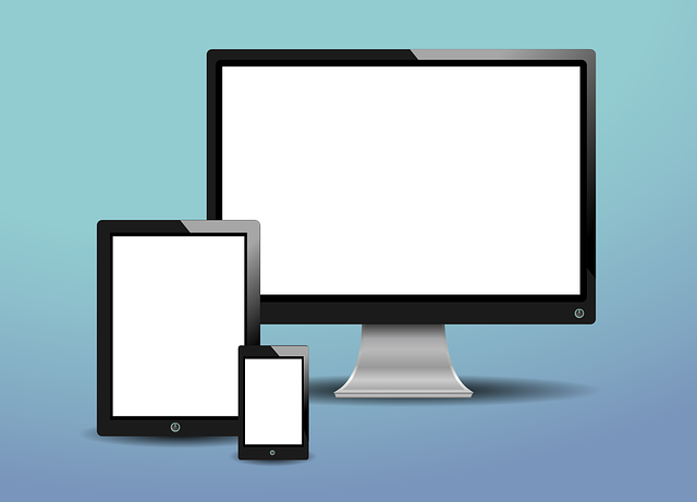 Tablet, Screen, Monitor, Phone, Pc, Display, On White