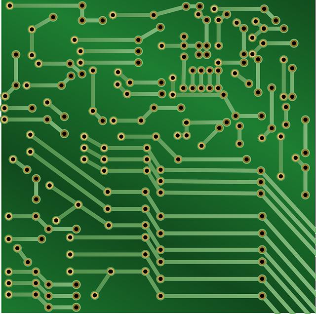 Circuit, Board, Electronic, Printed Circuit Board, Pcb