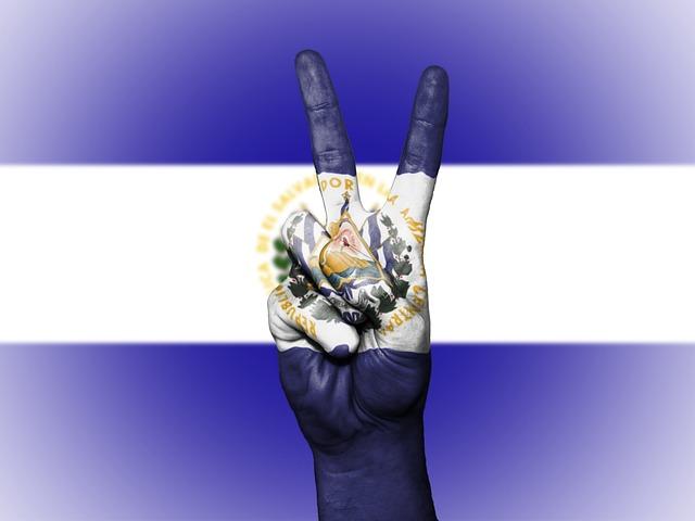 El Salvador, Peace, Hand, Nation, Background, Banner