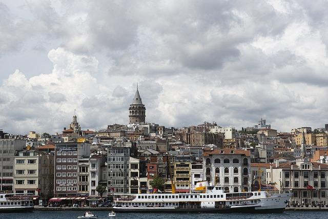 Istanbul, Landscape, Sultanahmet, Tower, Turkey, Peace